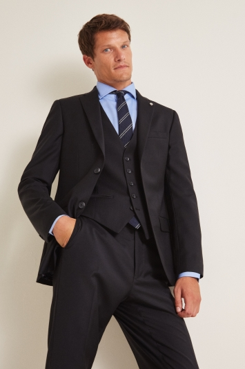 Ted Baker Tailored Fit Black Twill Jacket
