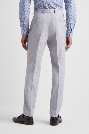 French Connection Slim Fit Pebble Marl Trousers