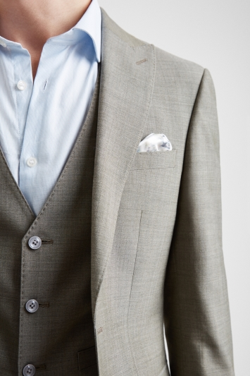 French Connection Slim Fit Sage Marl Jacket
