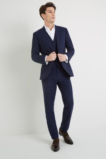 Lanificio F.lli Cerruti Dal 1881 Tailored Fit Blue iTravel Jacket