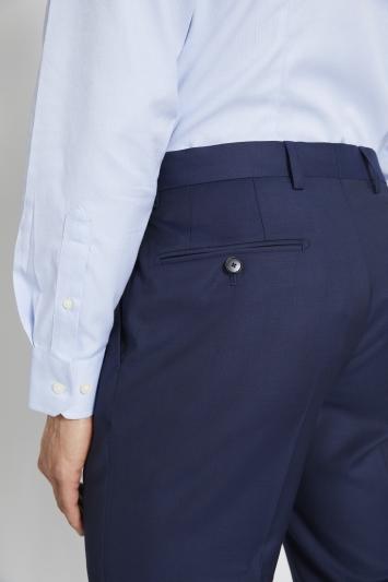 Lanificio F.lli Cerruti Dal 1881 Tailored Fit Navy Twill Trousers