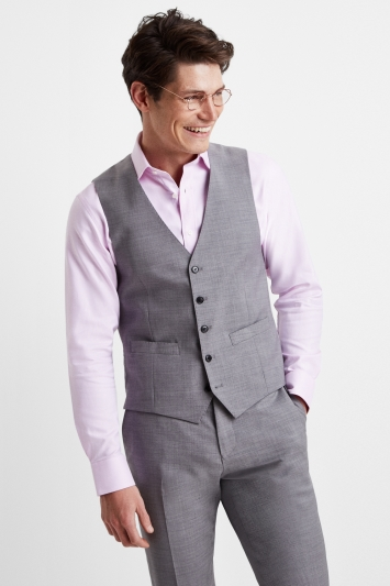 Moss 1851 Performance Tailored Fit Light Grey Jacket