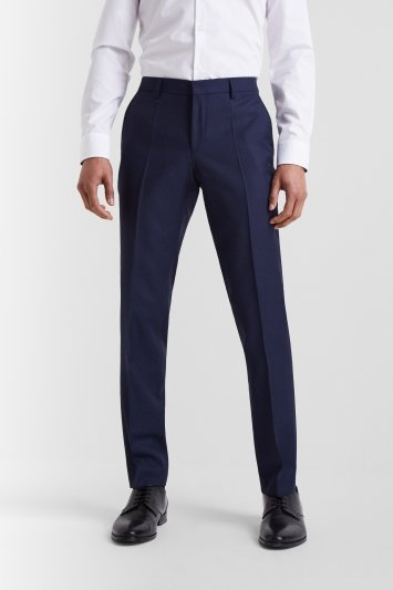HUGO by Hugo Boss Navy Birdseye Trousers