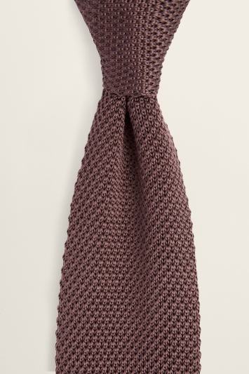 Mulberry Knitted Silk Tie