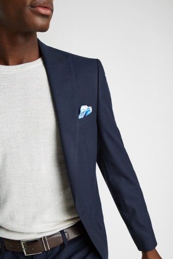 French Connection Slim Fit Navy Stretch Jacket