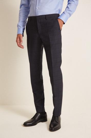 HUGO by Hugo Boss Navy Check Trousers
