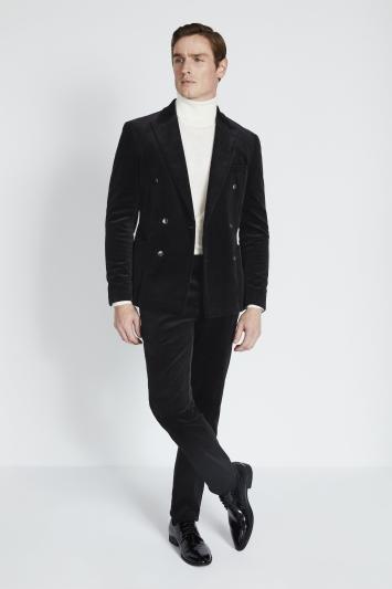 Slim Fit Ink Corduroy Jacket