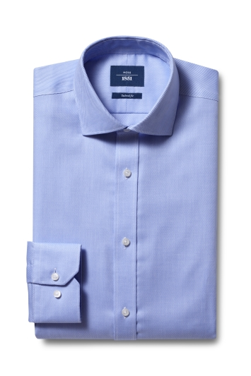 Tailored Fit Sky Twill Non Iron Shirt