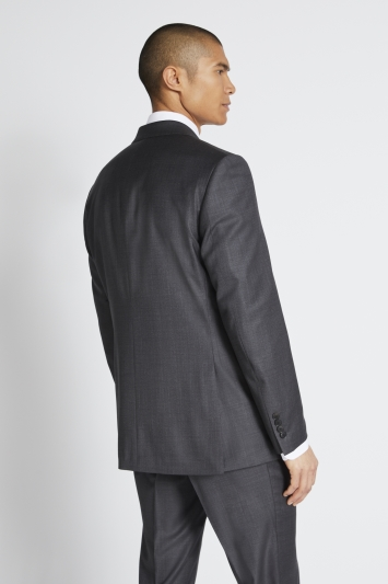 Lanificio F.lli Cerruti Dal 1881 Tailored Fit Charcoal Texture Jacket
