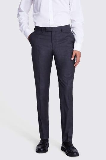 Lanificio F.lli Cerruti Dal 1881 Tailored Fit Charcoal Texture Trousers