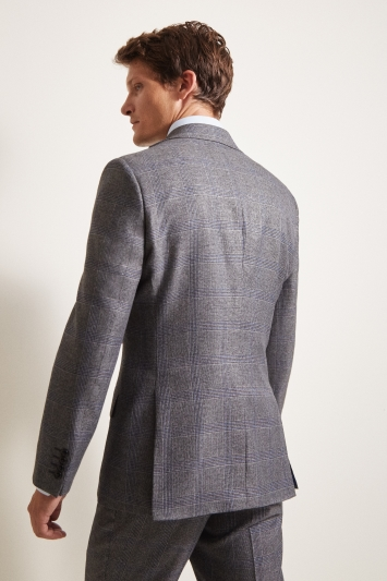 Moss 1851 Tailored Fit eco Grey Check Jacket