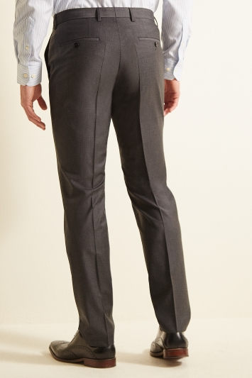 Hugo by Hugo Boss Charcoal Puppytooth Trousers