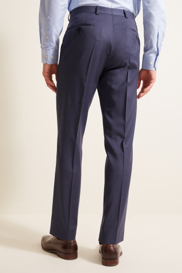 STG Exclusive Tailored Fit Airforce Blue Twill Trousers