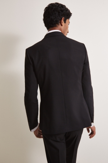 Slim Fit Black Dress Jacket