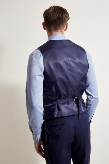 Tailored Fit Ink Waistcoat