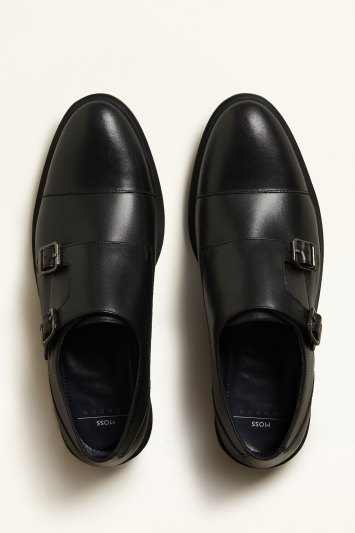 Elwood Black Monk Shoe