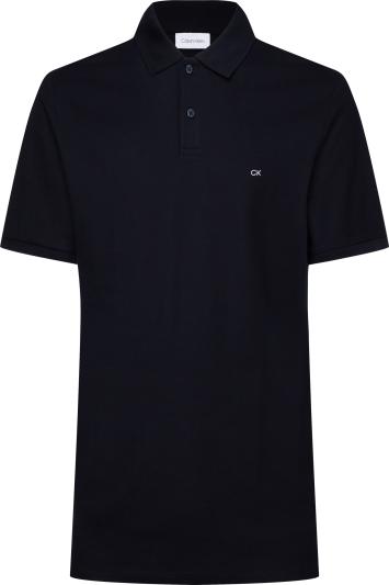 Calvin Klein Navy Pique Slim-Fit Polo Shirt