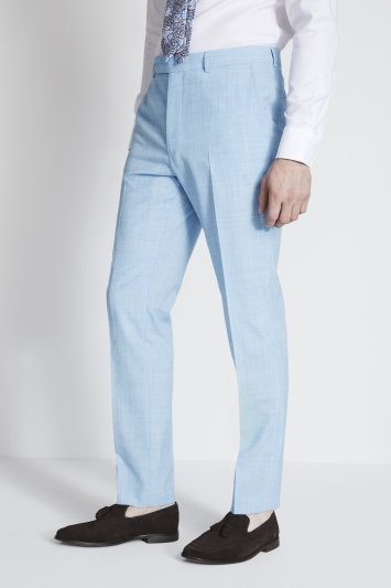 French Connection Slim Fit Sky Blue Marl Jacket
