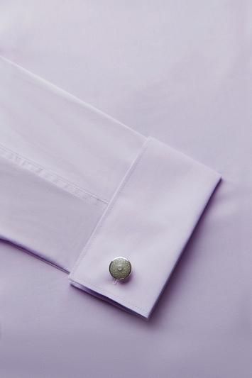 Silver with Grey Enamel Cufflinks