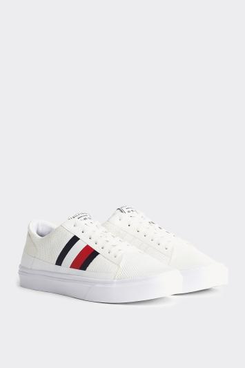 Tommy Hilfiger White Lightweight Sneaker
