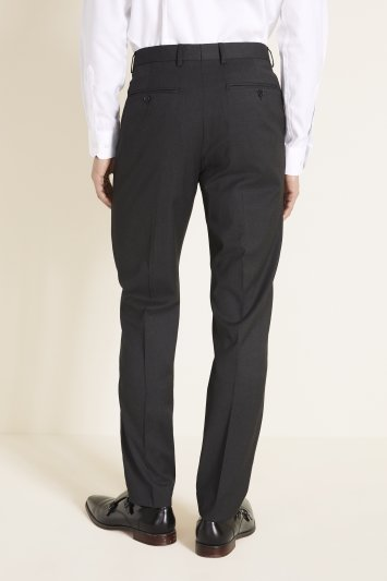 Moss 1851 Tailored Fit Charcoal Stretch Trouser