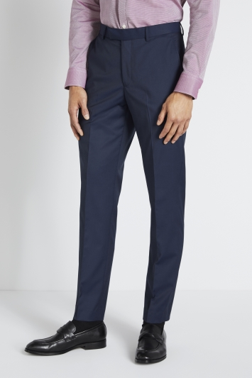 Moss 1851 Tailored Fit Ink Stretch Trouser