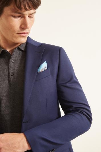 Moss 1851 Slim Fit Navy Twill Jacket