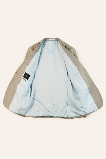 Moss London Slim Fit Grey Stretch Jacket