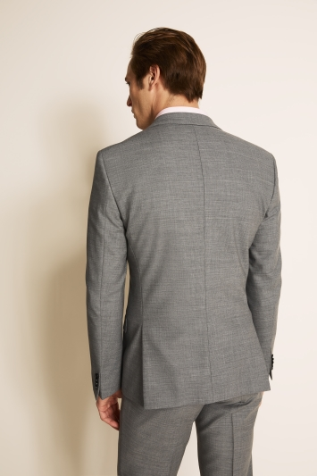 HUGO by Hugo Boss Tailored Fit Mid Grey Jacket