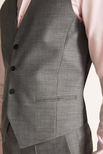 HUGO by Hugo Boss Mid Grey Waistcoat