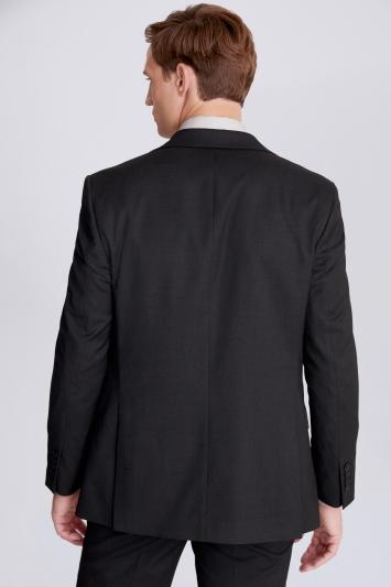 Moss 1851 Regular Fit Charcoal Stretch Jacket
