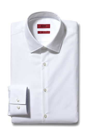 Slim Fit White 'Koey' Shirt