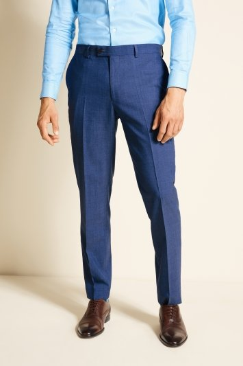 Ted Baker Alter Eco Tailored Fit Faded Blue Trousers