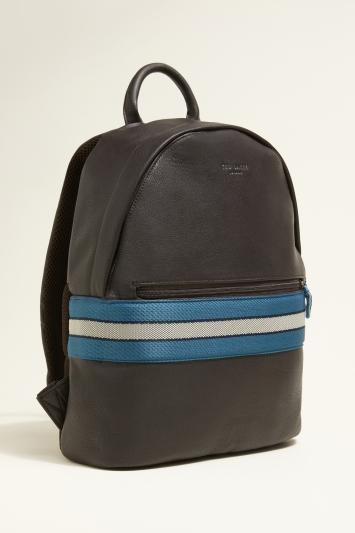 Ted Baker Agro Chocolate Webbing Backpack