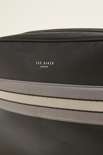 Ted Baker Splitt Black Webbing Despatch Bag
