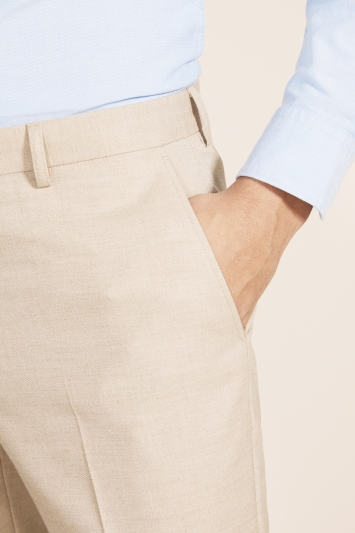 Moss 1851 Tailored Fit Latte Trouser
