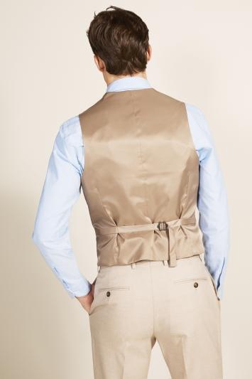 Moss 1851 Tailored Fit Latte Waistcoat