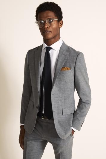 DKNY Slim Fit Grey Jacket