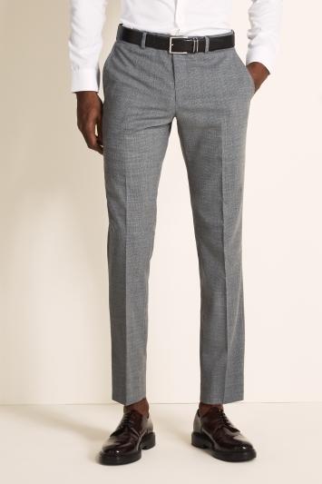 DKNY Slim Fit Grey Trousers