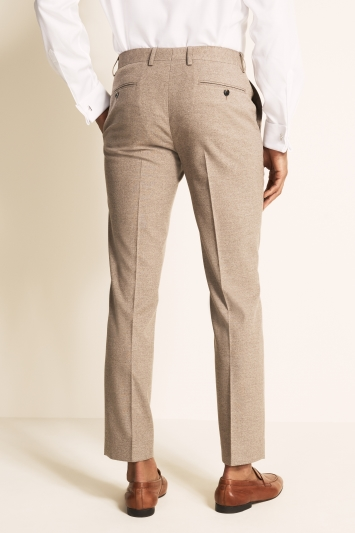 Moss 1851 Tailored Fit Neutral Trouser