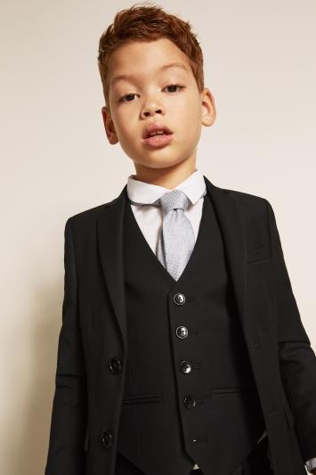 Boys Black Stretch Jacket