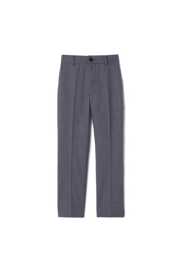 Boys Grey Twill Trousers