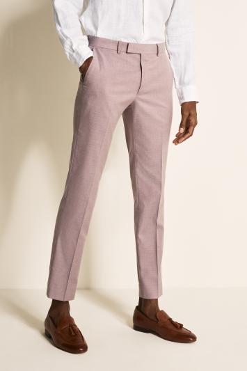 Moss London Slim Fit Mink Trousers
