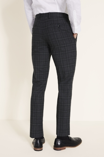 DKNY Charcoal Check Trousers