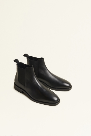 Seaford Black Chelsea Boot