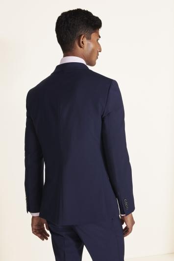 Moss London Slim Fit Ink Performance Jacket