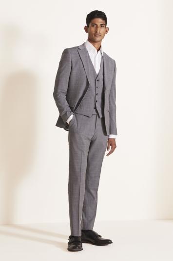 Moss London Slim Fit Grey Performance Jacket