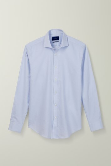 Tailored Fit Sky Print Non Iron Shirt