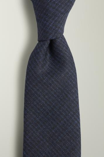 Navy Puppytooth Tie