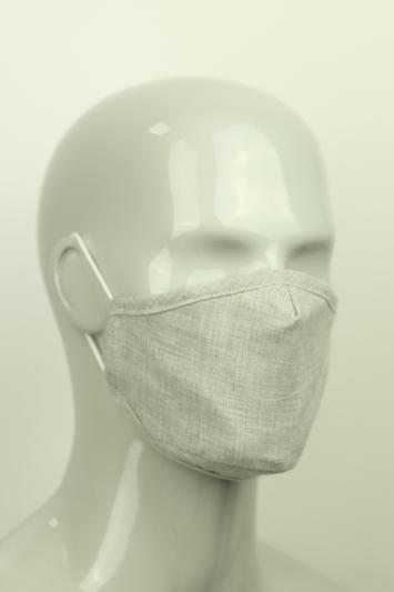 Moss Grey Chambray Mask